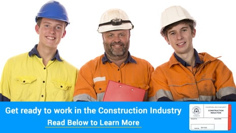 Get your ready to work in safely in the construction industry